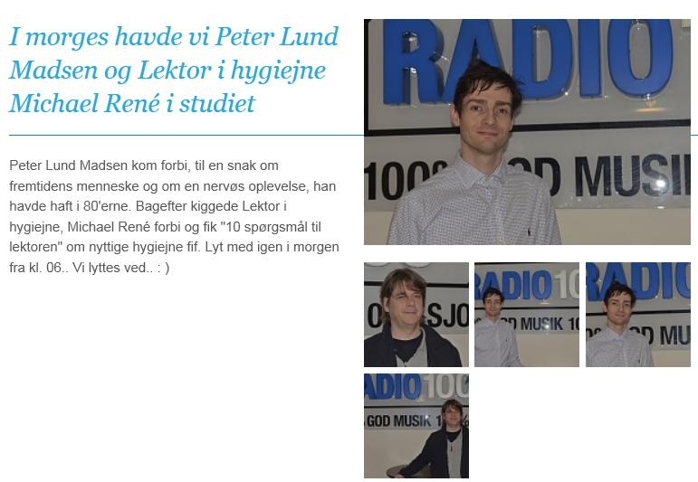 Radio100 Michael René