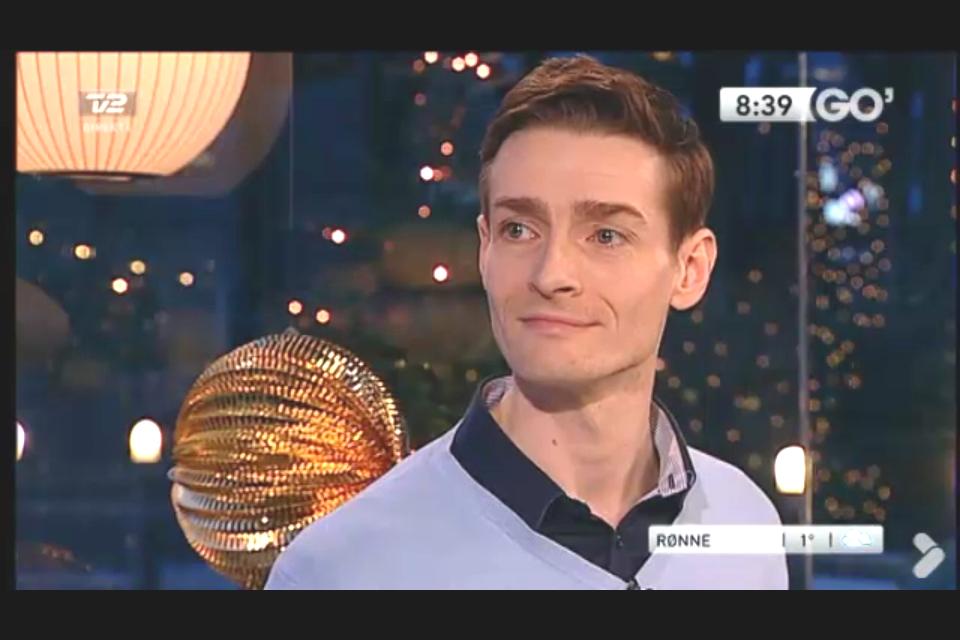 Michael René i studiet hos Go' Morgen Danmark - Klik og se programmet