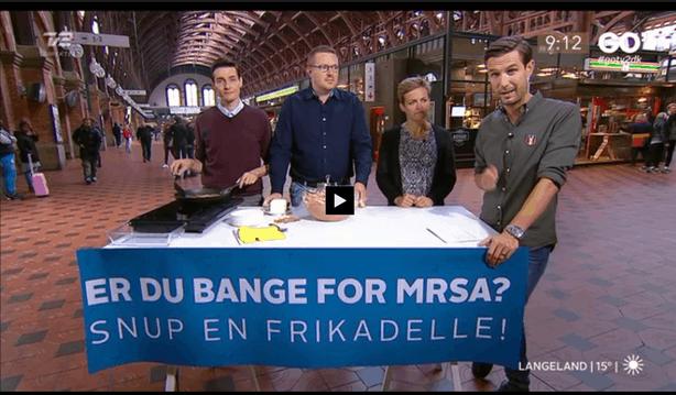Go' Morgen Danmark, MRSA, 28 sep 2014 (2)