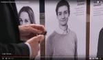 Michael René medvirker i kampagne for softwarefirmaet Agnitio på Eyeforpharma messen i Barcelona 2017