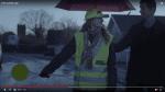Michael René spiller reklamemand, der ivrigt hjælper skolepatruljen