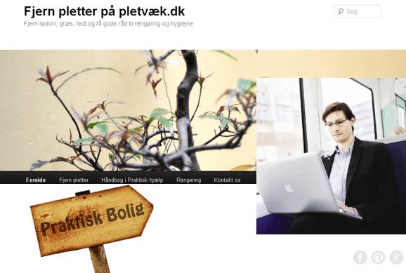 Michael René skribent hos Praktiskbolig.dk og Pletvæk.dk