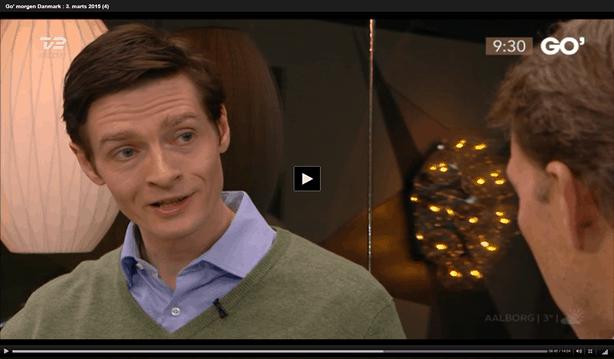 Michael René som rengøringsekspert i Go' Morgen danmark om rengøring af bruseniche (2), 3. mar. 2015