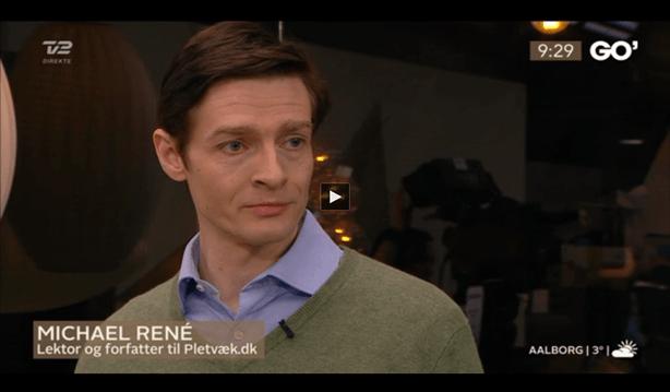 Michael René som rengøringsekspert i Go' Morgen danmark om rengøring af bruseniche, 3. mar. 2015