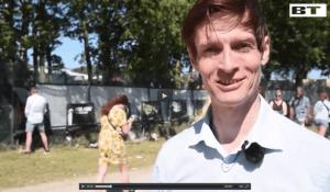 Michael René laver indslag på Roskildefestivalen for BT.dk, jul 2015 (1)