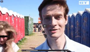 Michael René laver indslag på Roskildefestivalen for BT.dk, jul 2015 (3.2)