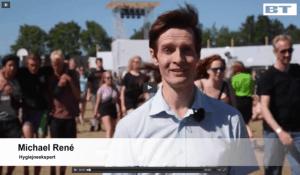 Michael René laver indslag på Roskildefestivalen for BT.dk, jul 2015
