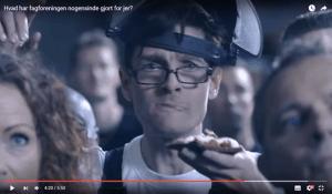 Michael René i reklamefilm for Dansk Metal