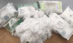 Politiken: Test af vådservietter med sprit (renseservietter med sprit) af rengøringsekspert Michael René